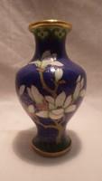 Kínai rekeszzománc váza