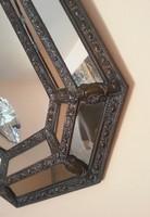 Eredeti Gyönyörű hibátlan antik francia fali tükör