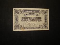 500000 adópengő 1946