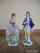 Antik Altwien barokk pár