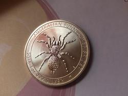 2014 Ausztrál pók ezüst 31,1 gramm 0,999 gyönyörű