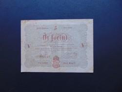 5 forint 1848 Kossuth bankó 01