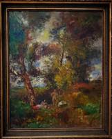 Herman Lipót eredeti festménye garanciával