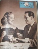 Ország-világ, 1958. aug. 20 – dec. 31., szép állaoptban, bekötve