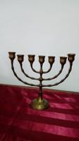 Judaika,zsidó gyertyatartó