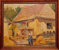 Tihanyi János Lajos eredeti festménye garanciával