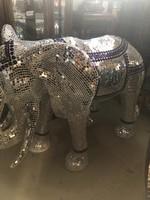 Mozaik tükör elefánt , designed in italy