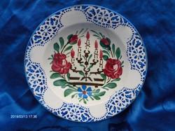 Antik TELKIBÁNYA fali tányér