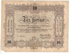 10 Tíz forint 1848 Kossuth bankó 2.