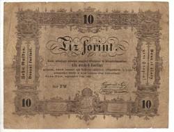 10 Tíz forint 1848 Kossuth bankó 1.