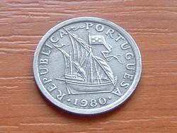 PORTUGÁLIA 2,5 ESCUDO 1980