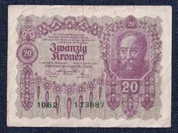 Osztrák 20 korona 1922/id 6553/