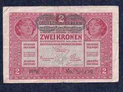 Osztrák-magyar 2 korona 1917/id 6566/