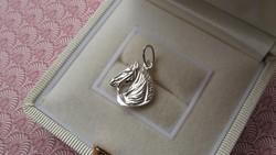 Ló - lovas ezüst medál