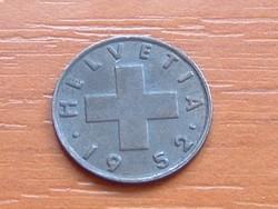 SVÁJC 1 RAPPEN 1952 B