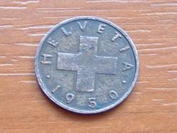 SVÁJC 1 RAPPEN 1950 B