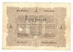 1 egy forint 1848 Kossuth bankó eredeti állapot 5.