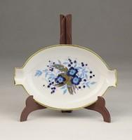0V515 Malév ajándék Herendi porcelán hamutál