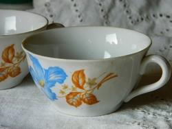 Régi Drasche porcelán csésze 2 db egyben,1940