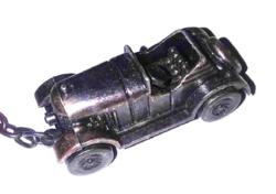 Bronz 1926.MORRIS autó modell  kulcstartó  ( Made in Hong Kong)