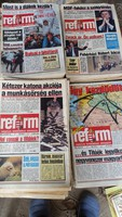 REFORM újság 1989, 1990, 1991 év eladó! 41 db