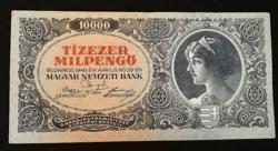 1946  TÍZEZER MILPENGŐ SZÉP ÁLLAPOTÚ
