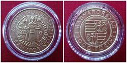 Zsigmond aranyforintja 2000 Forint 2016, emlék/id 1564/