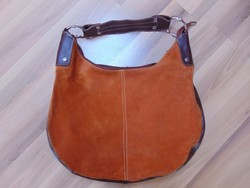 Hasítottbőr női táska.  / 1366