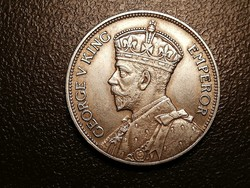 V.György Fidzsi-szigetek ezüst Florin 1934