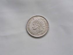 Egy dollár 1851-es után veret.