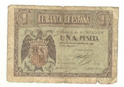 1 peseta 1938 Spanyolország
