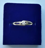 8 karátos arany gyűrű (jelzett)
