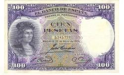 100 peseta 1931 Spanyolország