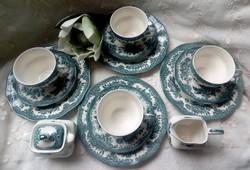 Angol Wedgwood  teás készlet 4 személyes