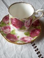 Royal Albert (Old English Rose ) kávés csésze szett