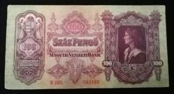 1930  SZÁZ PENGŐ SZÉP ÁLLAPOTÚ