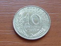 FRANCIA 10 CENTIMES 1986