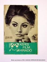 1966 augusztus  /  KÉPES FILM HÍRADÓ  /  Régi ÚJSÁGOK KÉPREGÉNYEK MAGAZINOK Szs.:  9052