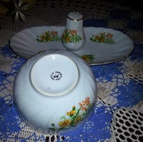 Kisvirágos román porcelán szett hibátlan!