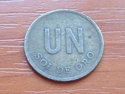 PERU 1 SOL DE ORO 1975