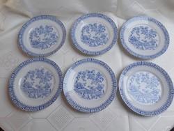 KPM China Blau süteményes tányérok  /  2292