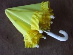 Régi, retró játék baba vagy gyerek ernyő, esernyő