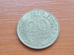 FRANCIA 20 CENTIMES 1977