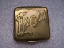 Bambú Alcoy cigarettapapír-tartó dobozka