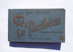 1925-ös Párizsi képeslap tömb