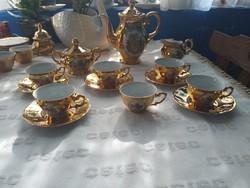 Álomszép jelenetes teás,kávés készlet