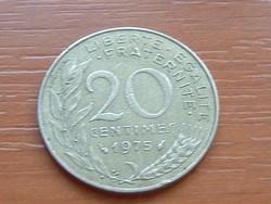 FRANCIA 20 CENTIMES 1975