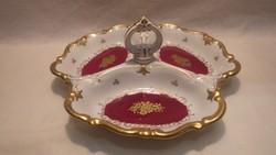 Reichenbach porcelán osztott asztalközép kínáló