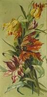 0V605 Ismeretlen festő : Tulipánok