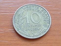 FRANCIA 10 CENTIMES 1973